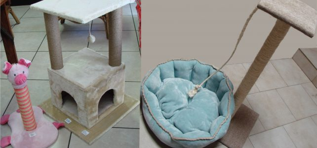 CAT BEDS AND SCRATCHERS COMBO PROMOTION